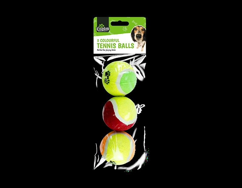 Pet Tennis Balls - 3 Pack