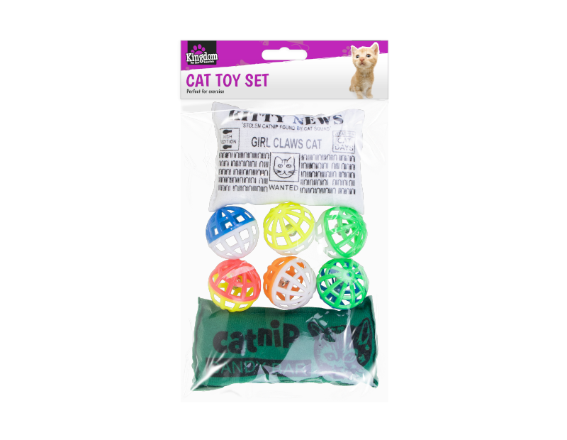 Cat Play Toys - 8 Pack