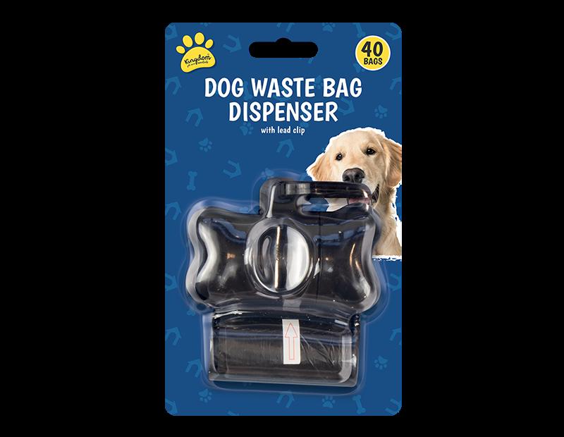 Dog Poo Bag Dispenser - 40 Bags