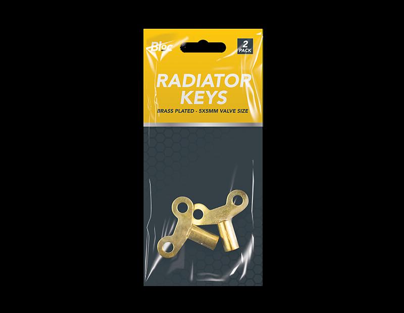 Radiator Keys - 2 Pack