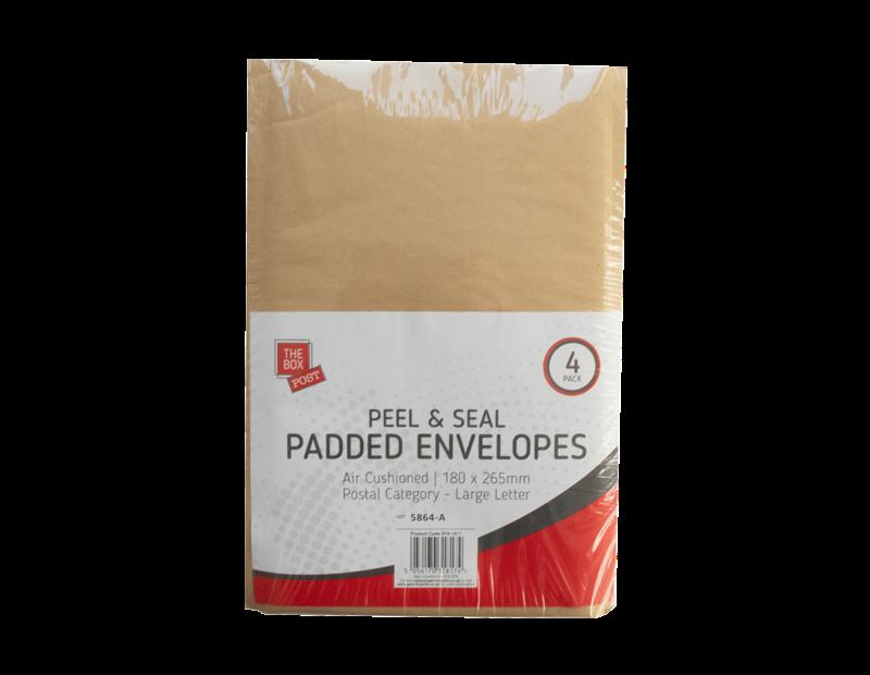 Small Padded Envelopes 18cm x 26.5cm - 4 Pack