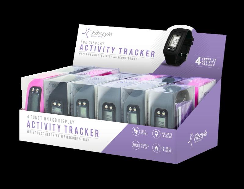 Wrist Activity Tracker