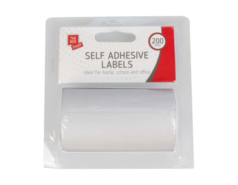 Self Adhesive Labels - 200 Pack