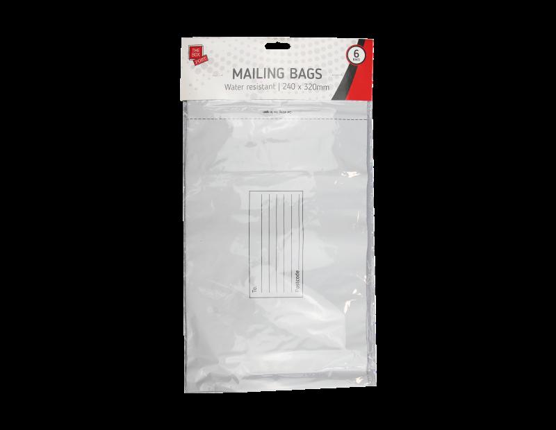 Medium Mailing Bags - 6 Pack