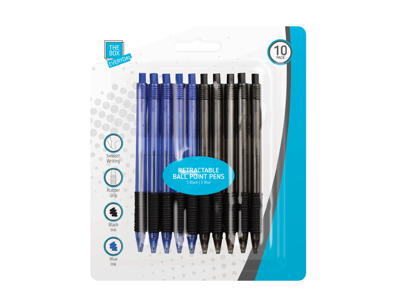Ball Point Pens - 10 Pack