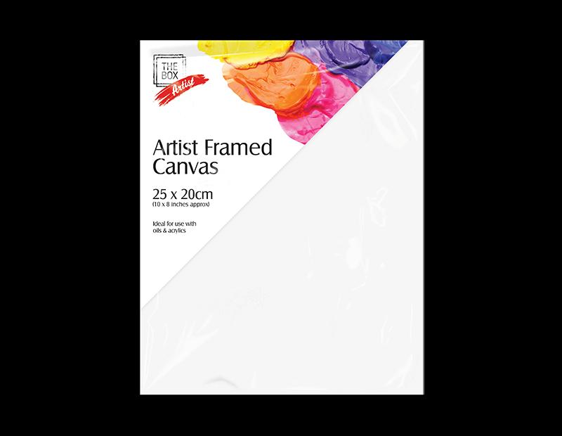 Artist Framed Canvas 25cm x 20cm