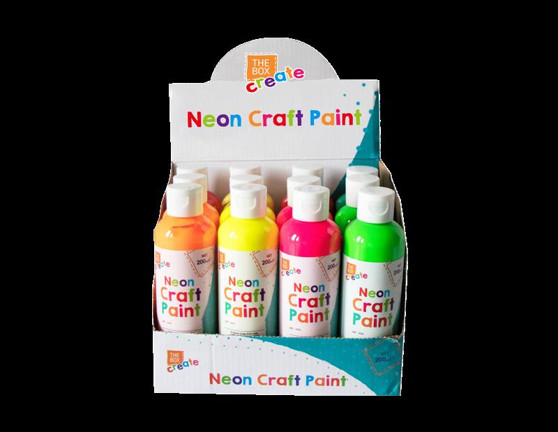 Neon Finger Paint - 200ml
