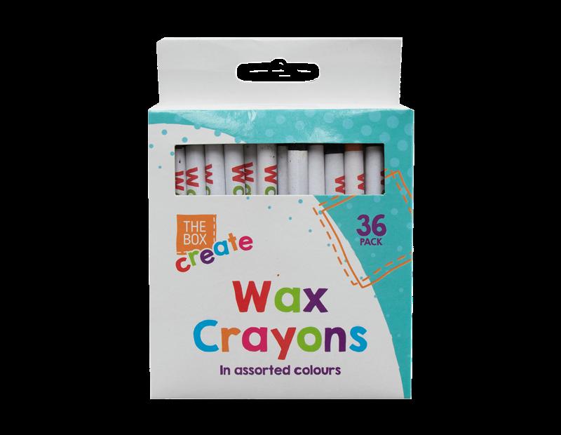 Wax Crayons - 36 Pack