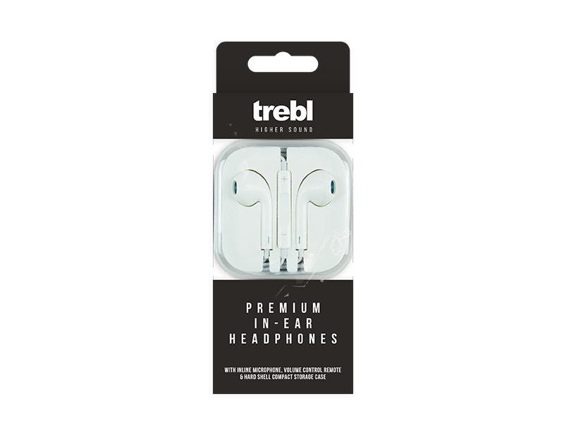 Stereo In-ear Headphones With Mic