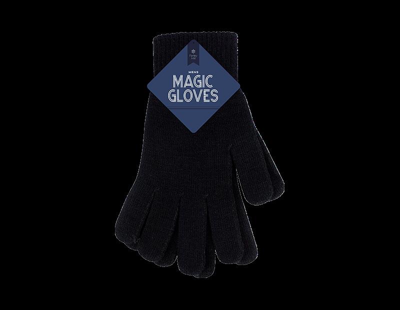Mens Black Magic Gloves
