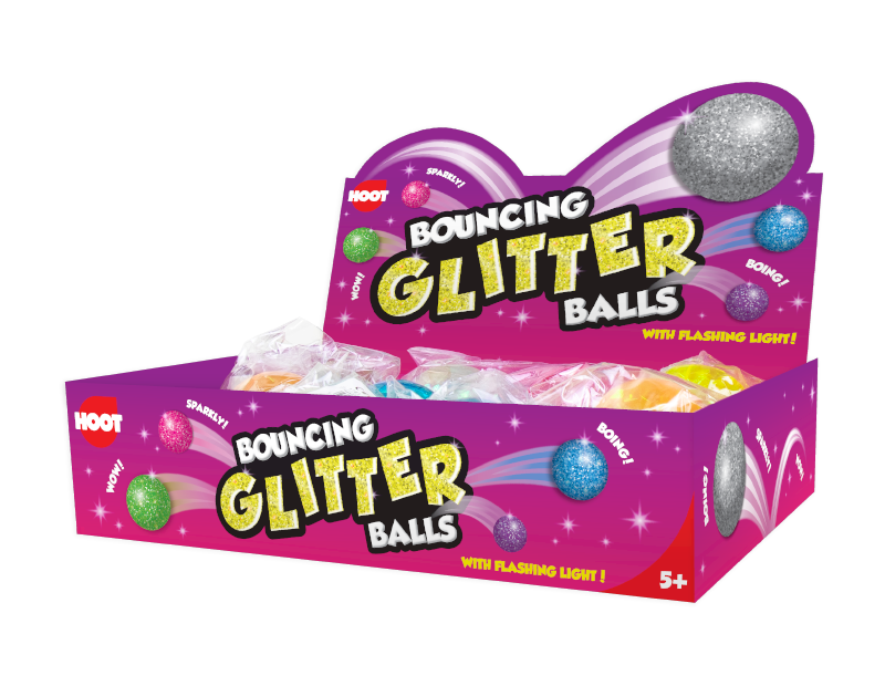 Bouncing Glitter Balls With PDQ