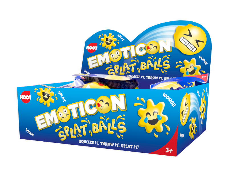 Emoticon Splat Ball With PDQ