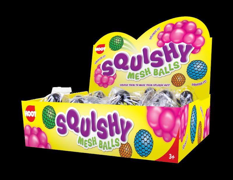 Squishy Mesh Ball With PDQ
