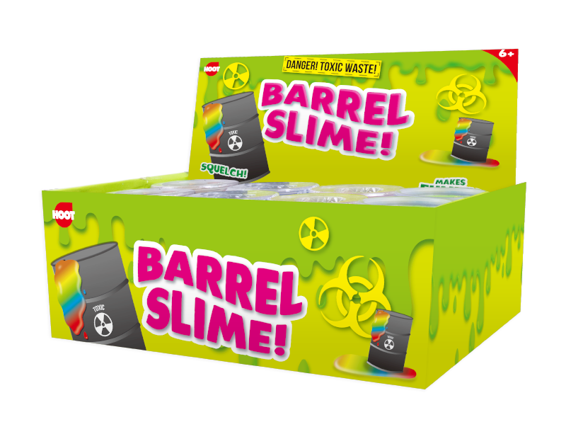 Barrel Slime 140g With PDQ