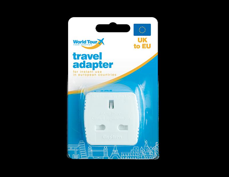 Travel Adapter UK To EU