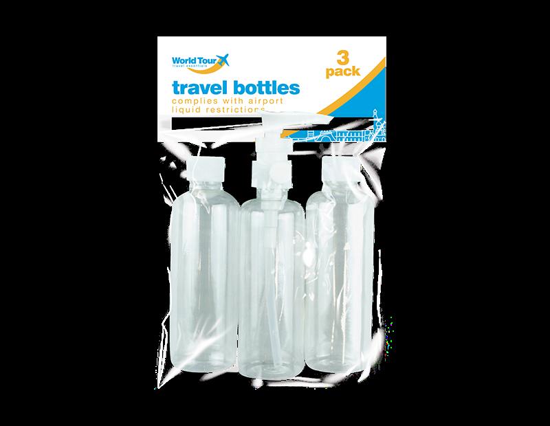 Travel Bottles - 3 Pack