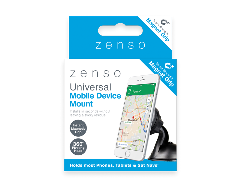 Universal Mobile Device Mount